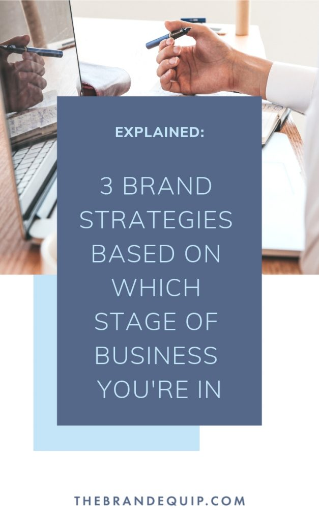 Hey there, entrepreneur. Did you know that service-based businesses go through 3 primary stages of growth and your brand strategy should reflect that. #businessstrategy #brandgrowth