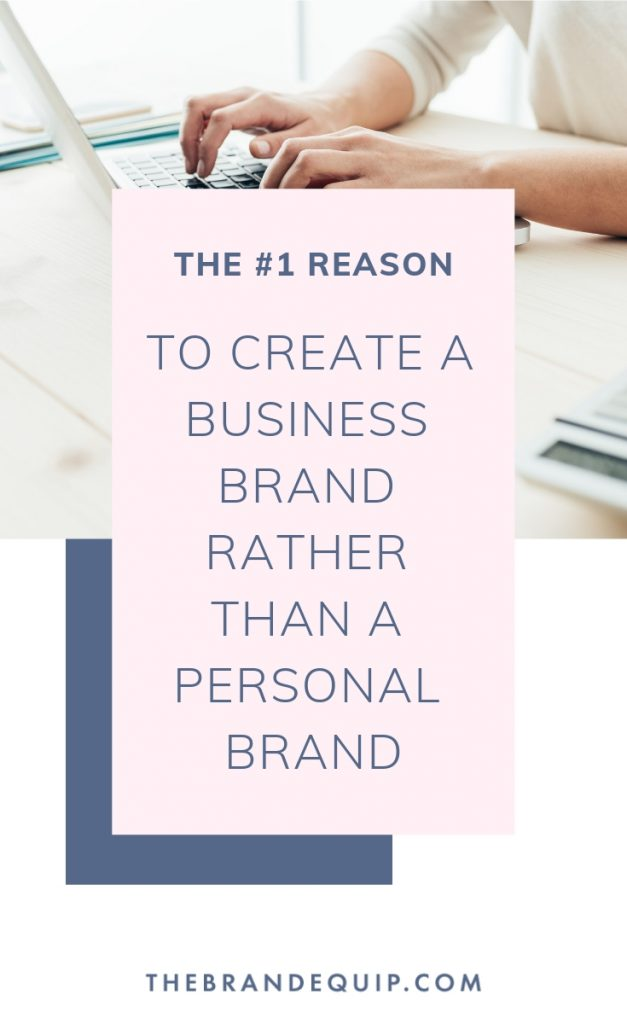 Are you thinking of starting a small business using your own name? My fellow entrepreneur, I must say that I don't recommend it. Discover why developing a stand alone business brand is my recommendation nearly every time in this article.