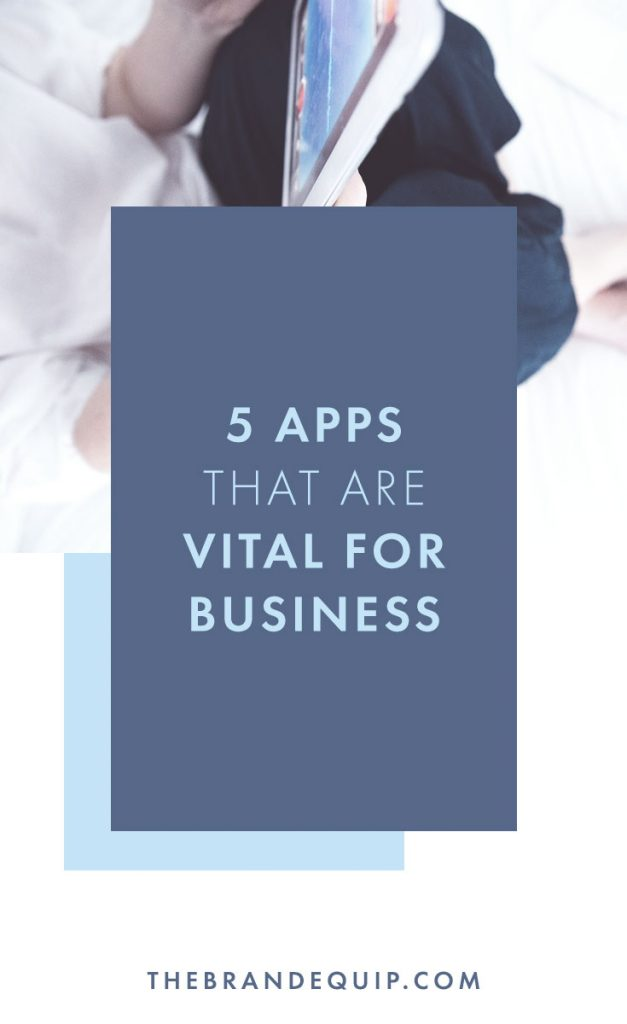 If you're an entrepreneur running a small business then you could benefit from using these 5 apps in your business to keep your systems running smoothly. When your business runs well then your brand improves because it's about developing an experience for your audience and clients. Click through to learn the 5 apps that every business can use and check out two bonus ones at the end. #businessstrategy #systems #brandexperience