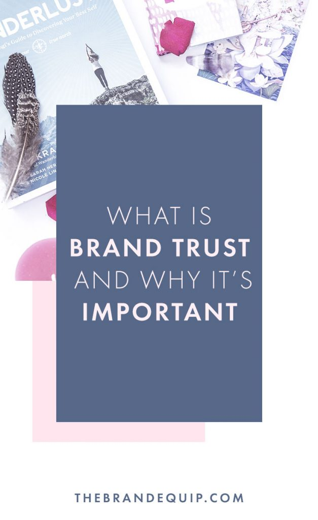 Sometimes brand terms have very uninspired names, but still leave most small business owners wondering what it is. In this article I'll explain what brand trust is with examples so that you can better develop your own brand identity. Be sure to click through to get my guide on the 5 Pillars of Powerful Brands too.