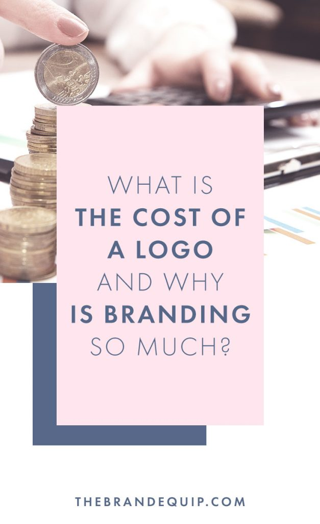 Developing a brand takes a lot more work than designing a logo and business cards. Get the inside scoop as to where the disparity between costs for a logo design vs. a brand design is coming from. #branddesigner #logodesign #branddesign