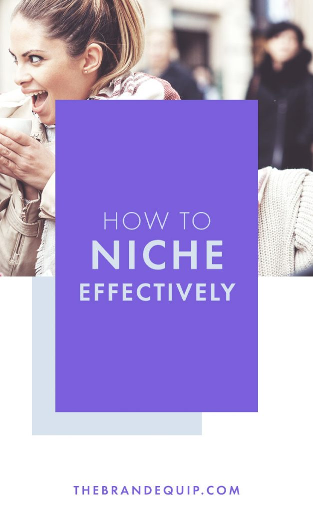 If you're an entrepreneur I'm guessing you've tried the 'niching' thing...but it's actually really hard to do it effectively. In this article I'll tell you the three areas you need to 'niche' in to actually get focused enough to develop a focused brand identity. Click through to learn how to develop a powerful brand and get my guide on the 5 Pillars of Powerful Brands. #branding #brandstrategy
