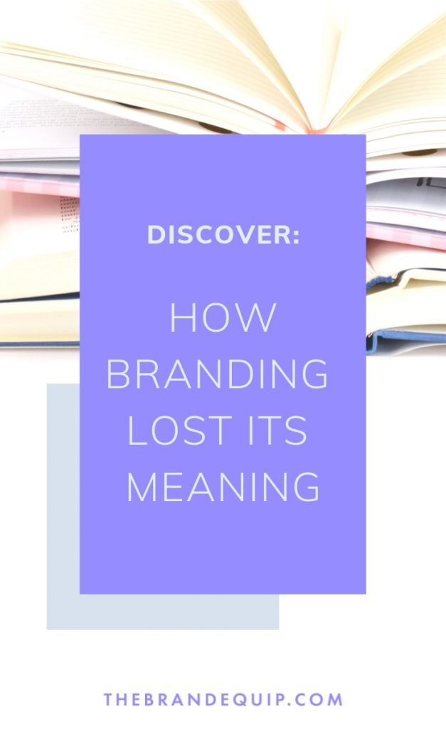 If you're a small business owner who thinks that branding starts and ends with design then you may be working on an incorrect definition of 'brand.' But here's the thing: it's not your fault, it's just time to learn better.